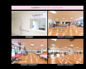 2F 内視鏡受付・リハビリテーションセンター